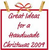 handmade Christmas 2009 button