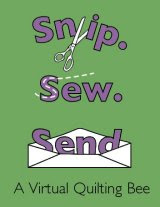 Snip.Sew.Send button