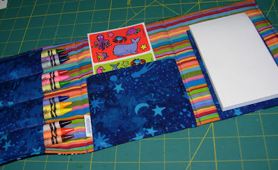 animal coloring wallet inside