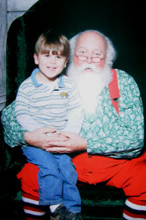 the Boy and Santa, 2009