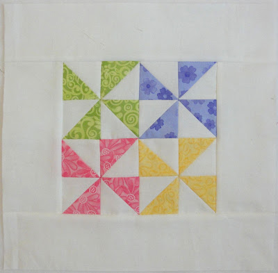 Pinwheel Party block 11