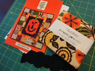 Sandy Gervais Crazy Jack pattern and fabrics