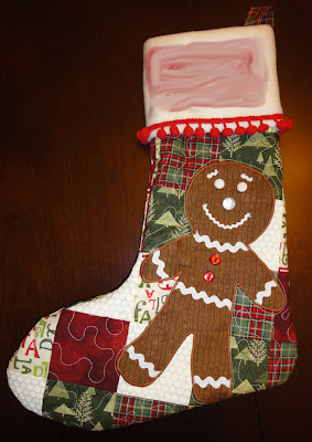 Little Bear's new stocking