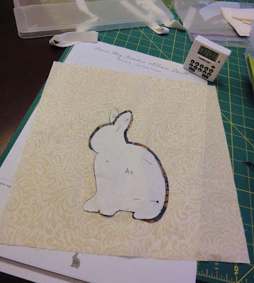 Hop to It bunny progress