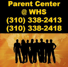 WESTCHESTER HIGH SCHOOL PARENT CENTER
