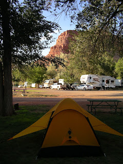 Camping at the Painted Pony in Kanab, UT