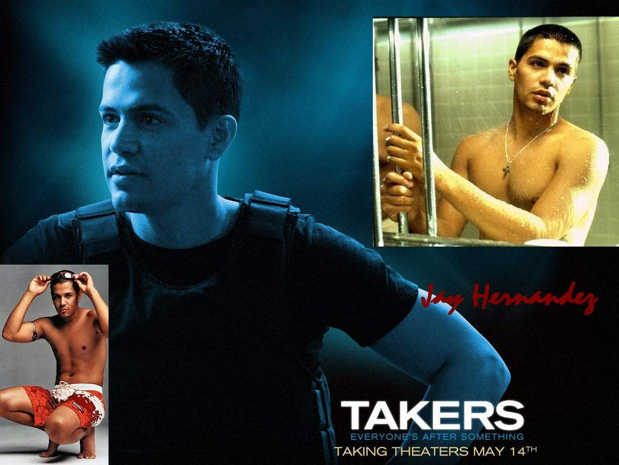 Favorite Hunks & Other Things: Takers: