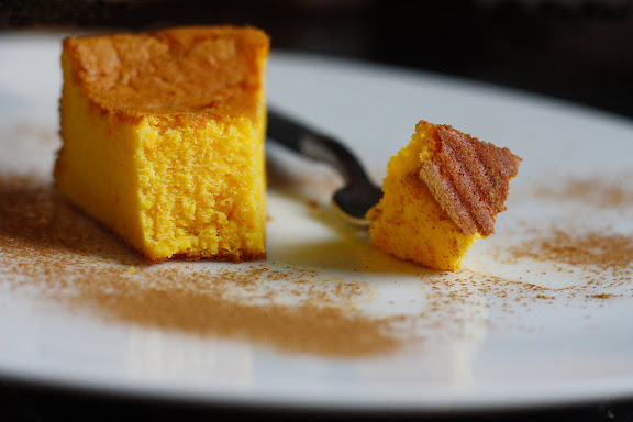 Pumpkin Mascarpone Bourbon Cake - Soft, Light, and Fluffy - SheSimmers