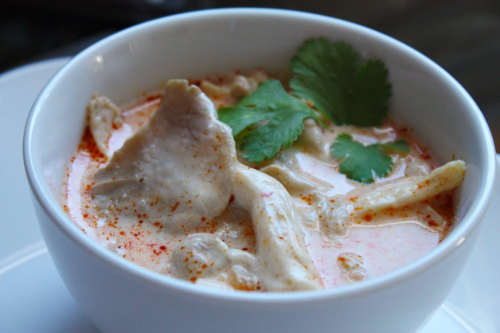 Tom Kha Udon Soup With Mushrooms Recipes — Dishmaps