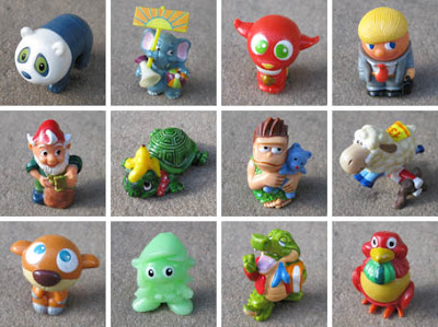 Collection of Kinder Egg toys!