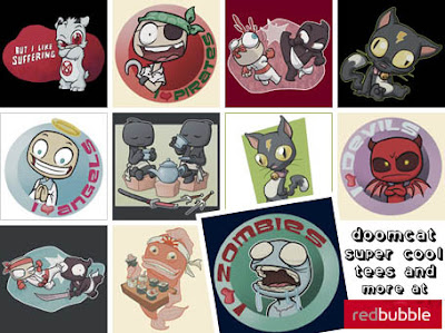 Doomcat at RedBubble