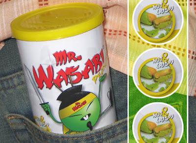 Mr. Wasabi Peanuts