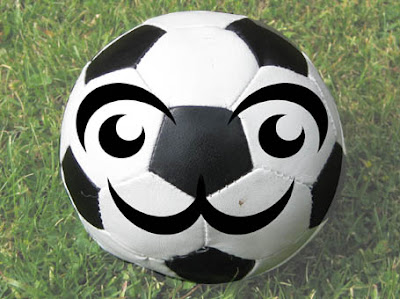 It's a kawaiified football!