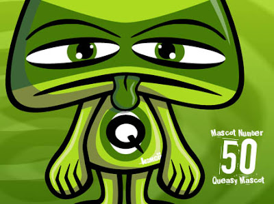 50th KawaiiPunk Mascot - it's Queasy!