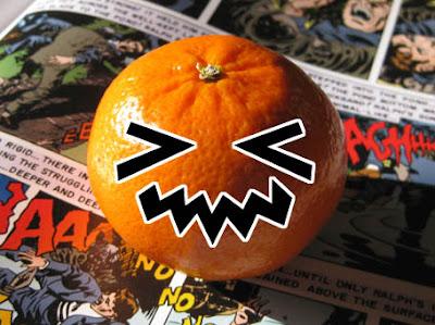 It's a kawaiified Halloween orange!
