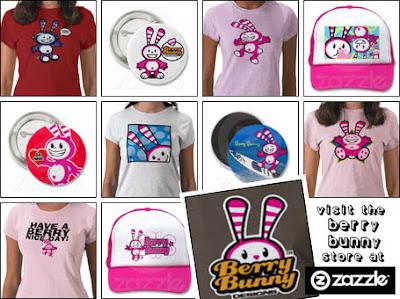 Berry Bunny at Zazzle