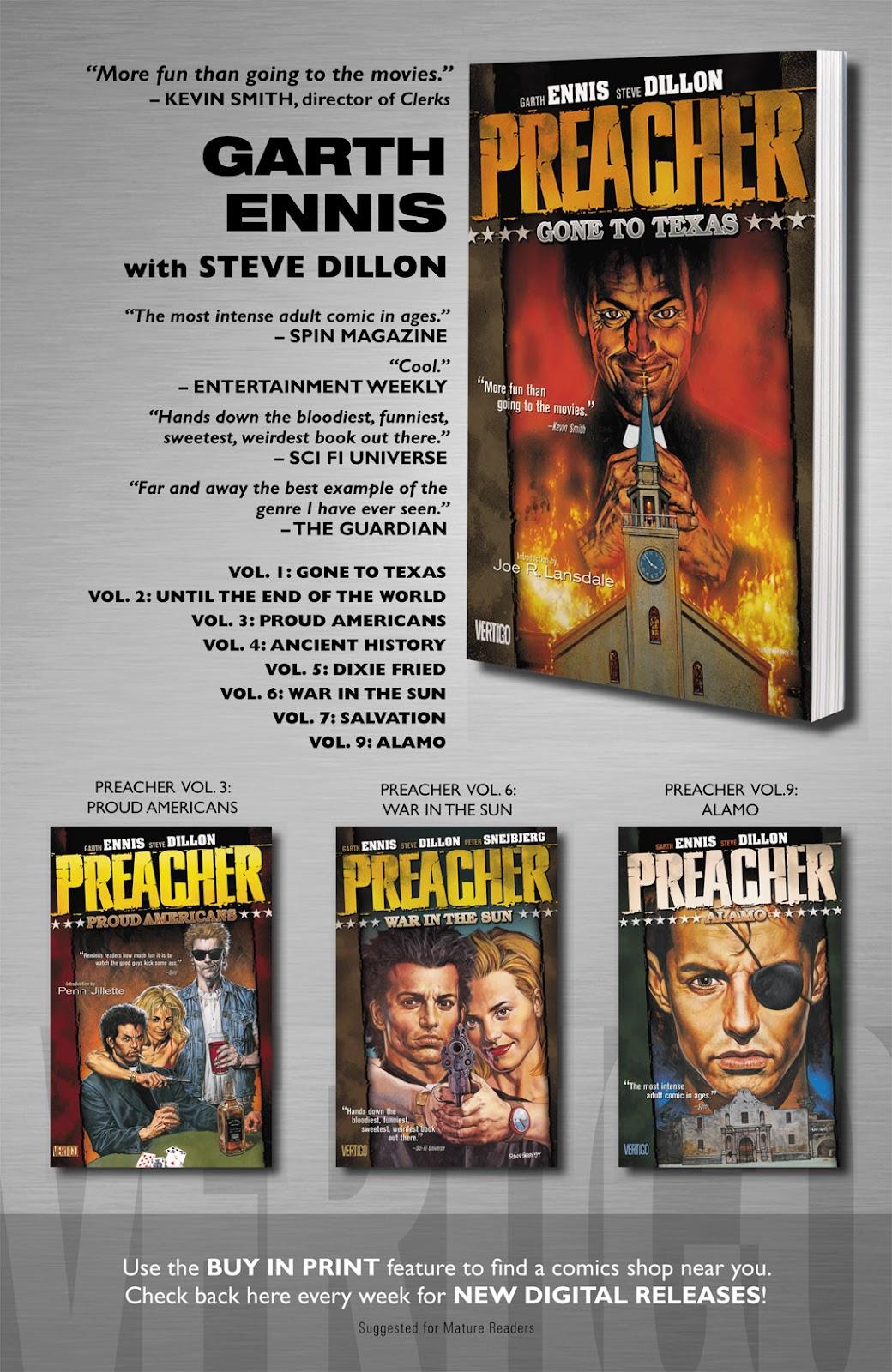 Preacher Issue #2 #11 - English 26