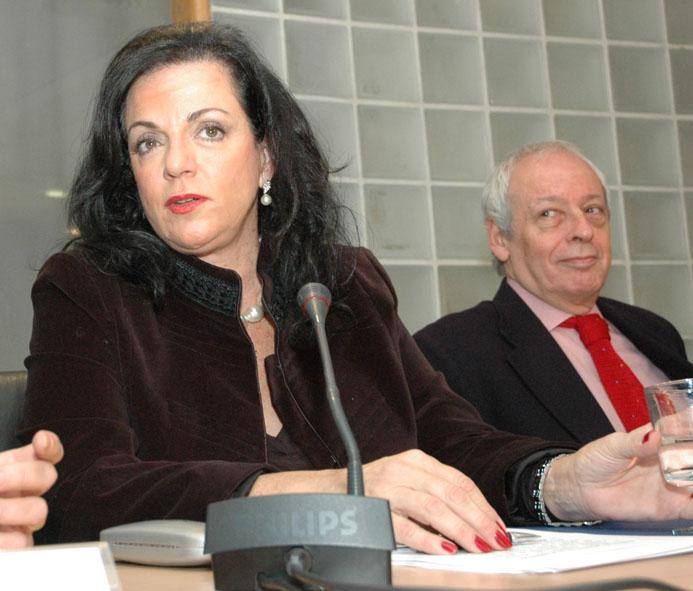 Nilda Garré y Horacio Verbitsky