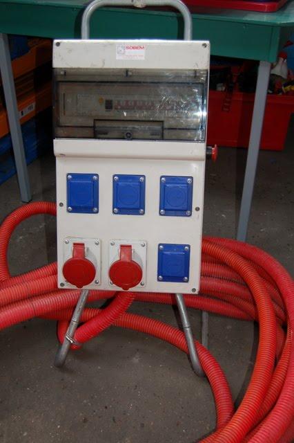 Fosmat mat riels d 39 occasion t l 06 09 24 27 76 armoire electrique 63a de chantier - Armoire electrique occasion ...