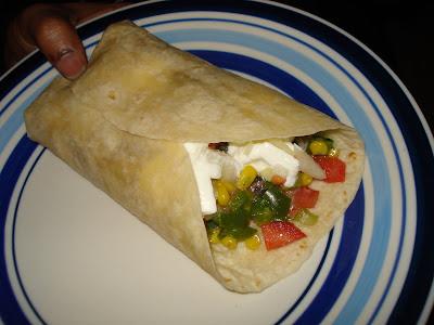 Burritos Recipe Vegetarian. share her burrito recipe