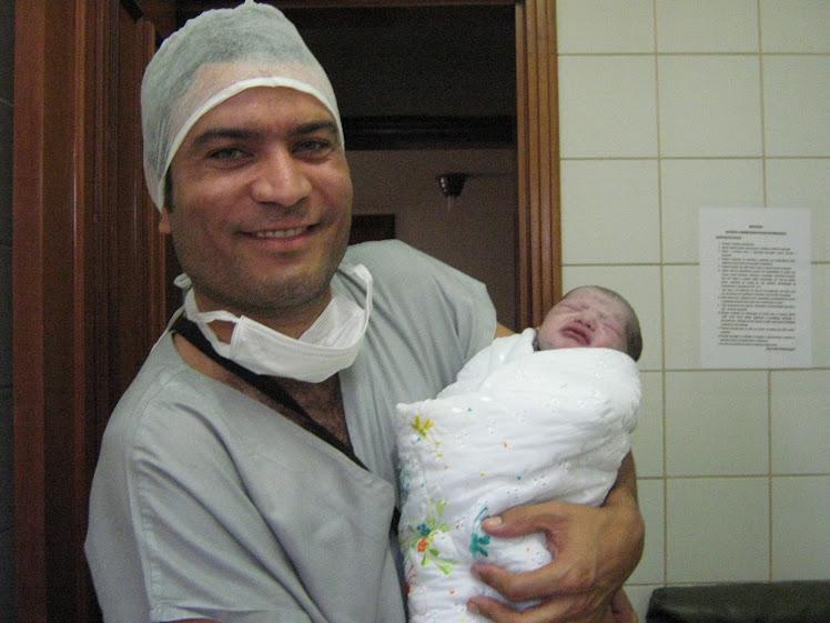 Papai com Enzo Luiz