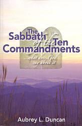 The Sabbath of the Ten Commandments