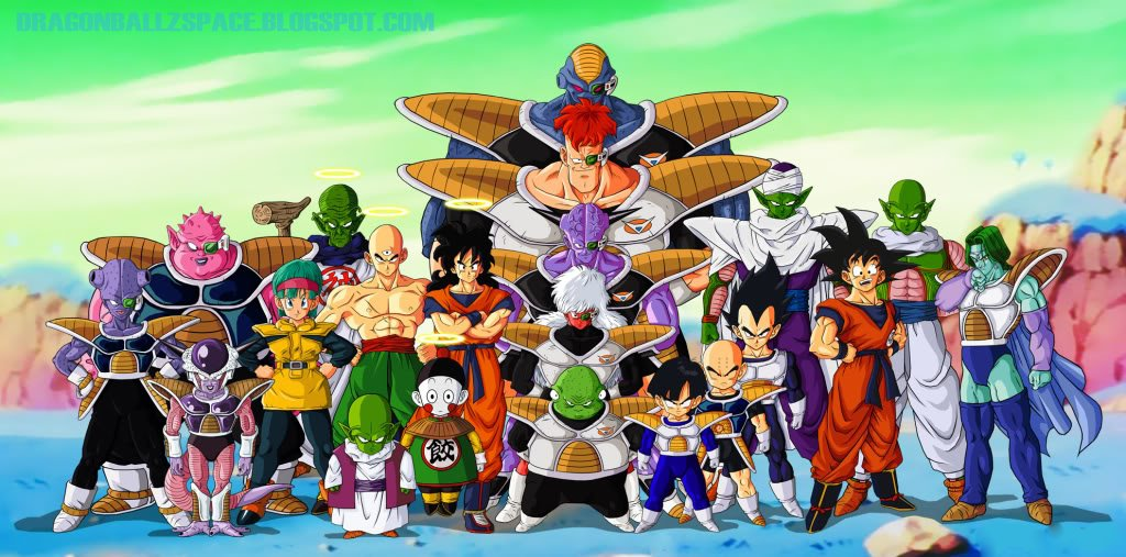 Todas Las Sagas de Dragon Ball Z