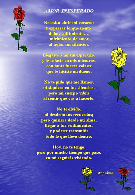 versos de amistad y amor. amor y amistad poemas