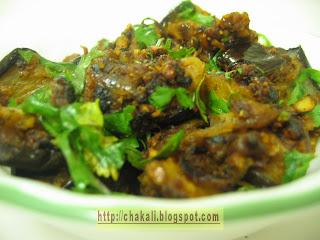 vange recipe, baingan recipe, eggplant recipe, eggplant curry, vangyachi bhaji