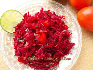 eat healthy, how to reduce weight, loose weight, beetroot raita, beetroot salad, beetachi koshimbir