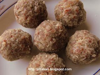Aliv Ladu, paushtik ladu, laddu recipe, Marathi Alivache Ladu