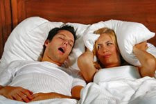 common snoring is a problem causing irritation to partner