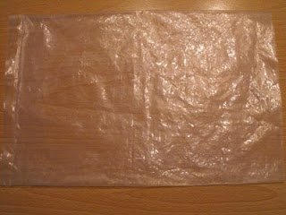 Plastic sheet ready for meduvada