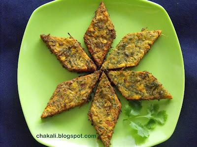 kothimbir wadi, cilantro snacks, cilantro fried cakes, corinader wadi, coriander pakoda