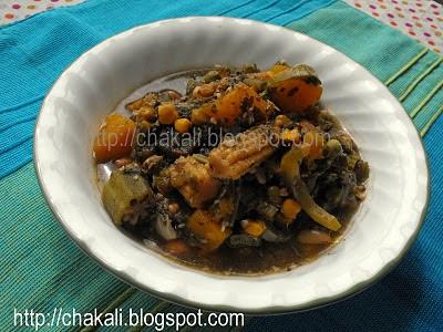 Ganapati Recipes, Rishi Panchami Bhaji, Rishi chi Bhaji