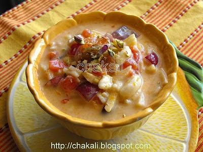 fruit salad, indian fruit salad, fruit dessert