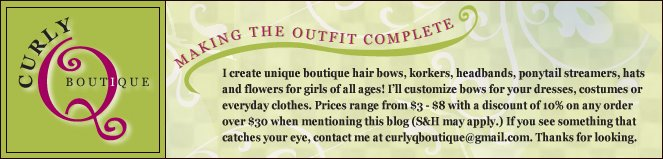 Curly-Q Boutique - Making the outfit complete