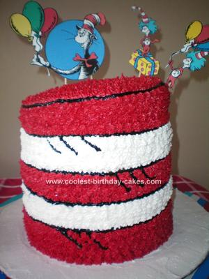 This is my tribute to Dr Seuess and the naughty Cat in the Hat :-)