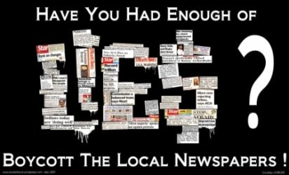 Jom Boikot Utusan Meloya dan TV3 Suku