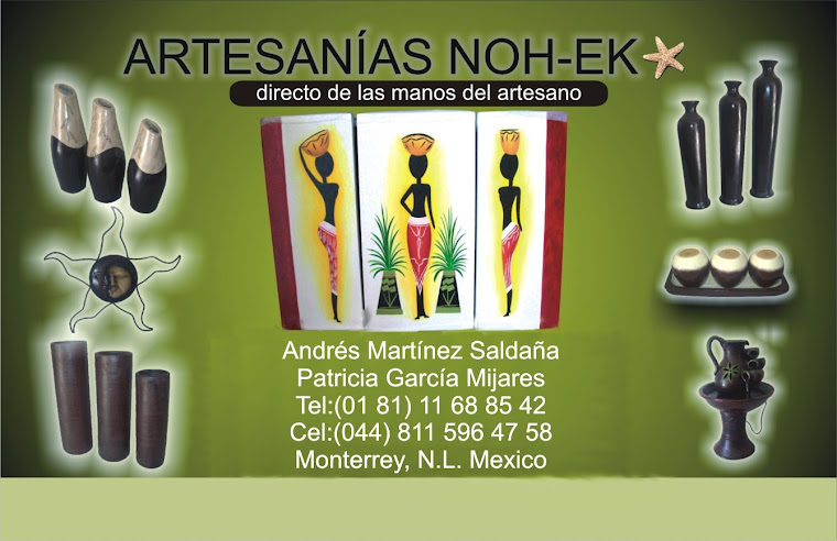 ARTESANIAS GRAN ESTRELLA NOH-EK