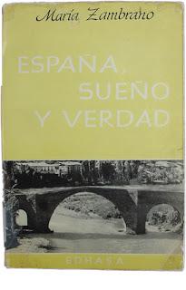 España, Sueño y Verdad - María Zambrano