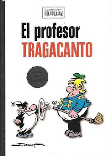 El Profesor Tragacanto - Cómic