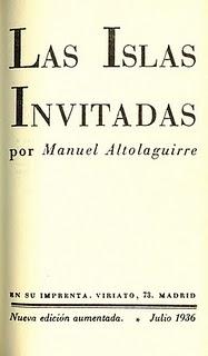 Las Islas Invitadas - Manuel Altolaguirre