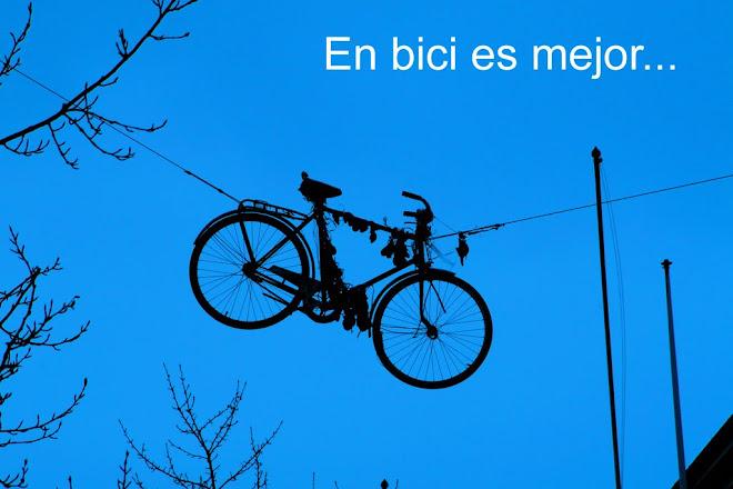 En bici es mejor