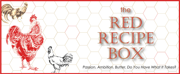 The Red Recipe Box