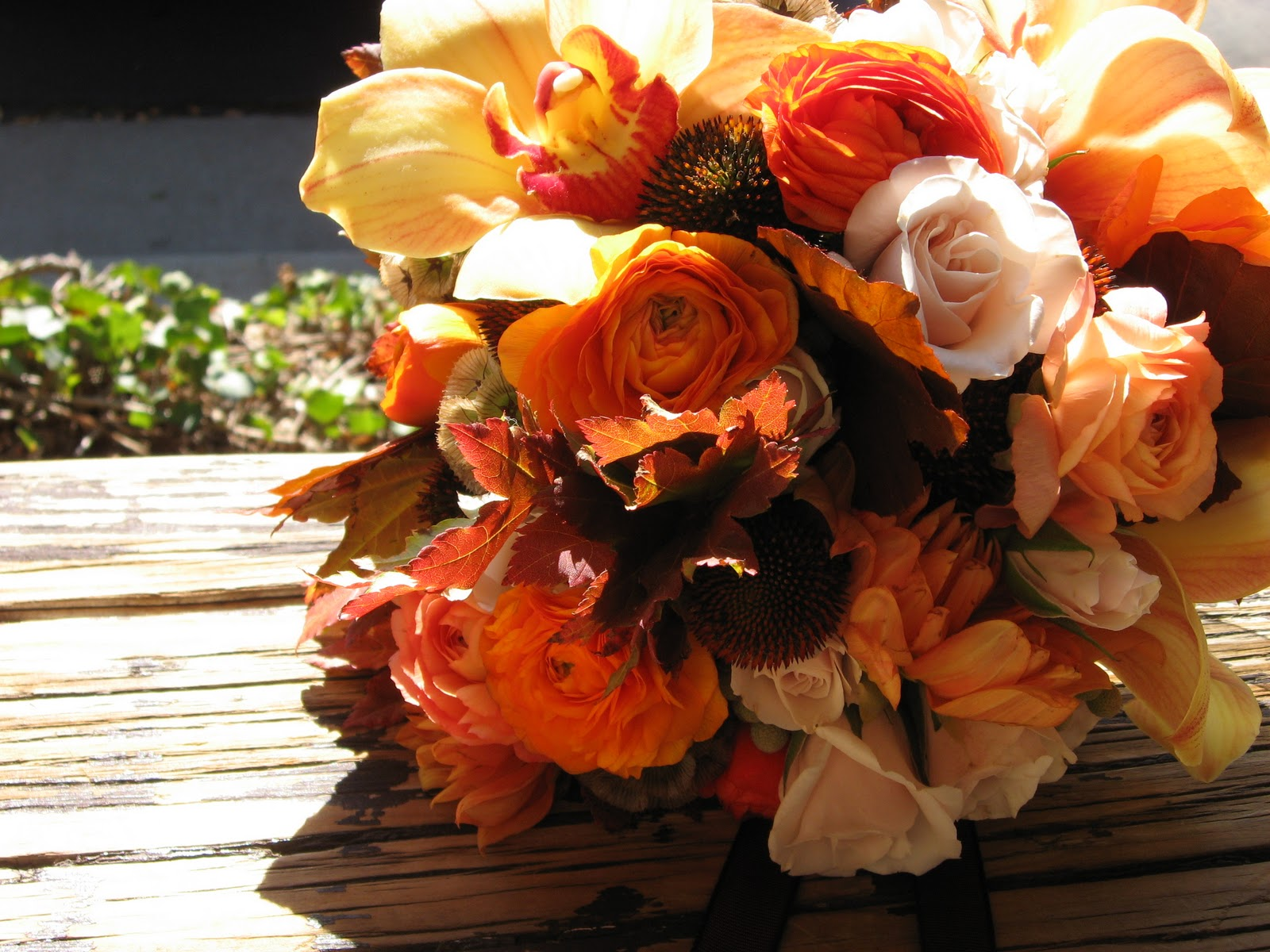 Dahlia s Flowers Fall Wedding Bouquet