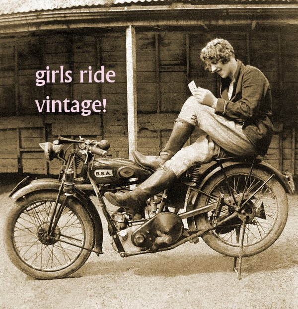 Girls Ride Vintage