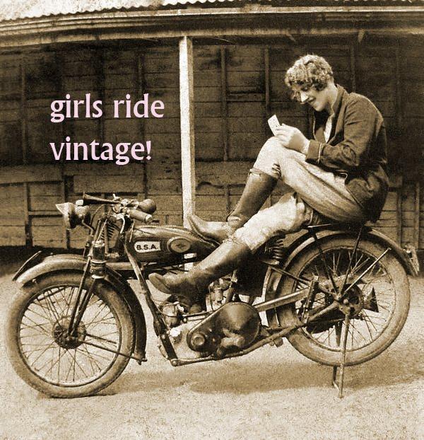 Girls Ride Vintage