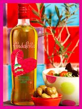 AGATHA diseña la botella para el aceite de oliva ANDALEÑA!