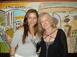"""Escritora e Cantora """"Miss Jazz"""", Livia Tucci e eu"""